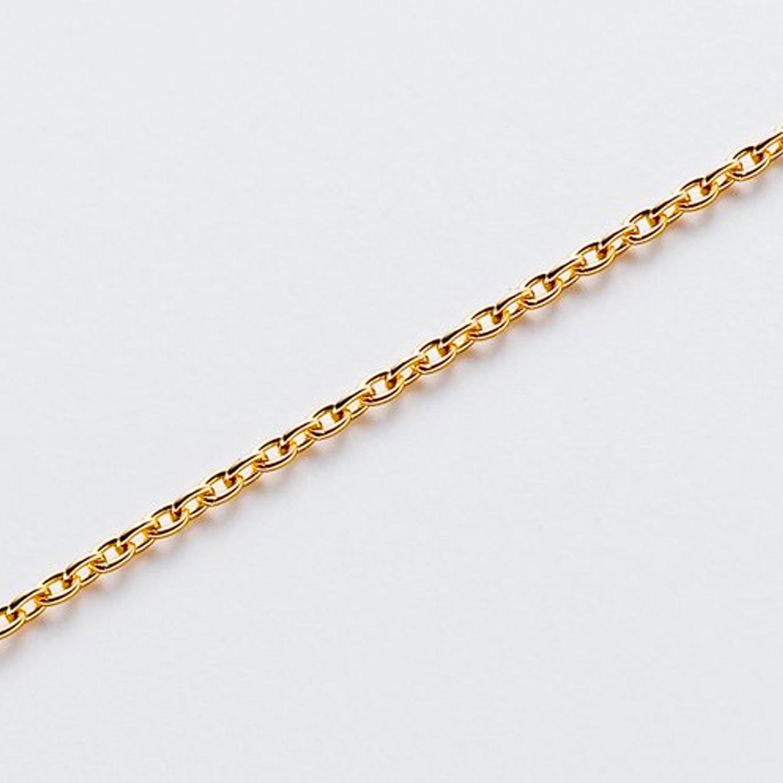 K18ゴールド チェーン 40/37cm